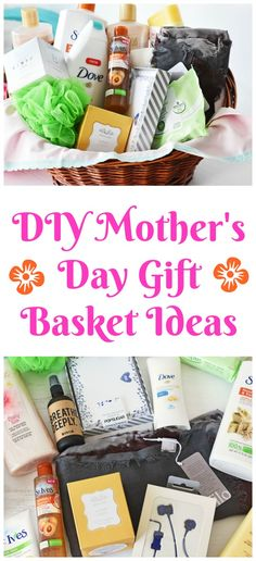 DIY Mother's Day Gift Basket Filler Ideas- Mother's Day is right around the corner! Check out the best gift basket fillers for the best mom-approved basket! Ideas for all moms! #AD  via @savvysavingcoup #CVSBeautyBeginsHere