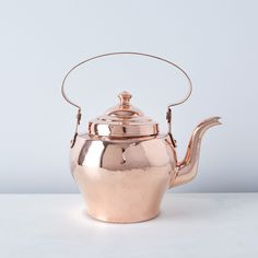 Vintage Copper French Tea Kettle, Late 19th Century on Food52