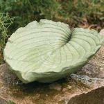How to Make a Birdbath  Your brother-in-law is not the only one who needs a regular bath and frequent drinks: Birds do, too. Give them their own little oasis with this homemade leaf-shaped birdbath.
