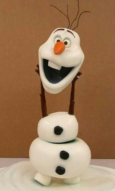 Olaf cake ♡♡♡♡♡♥♥♥♥♥