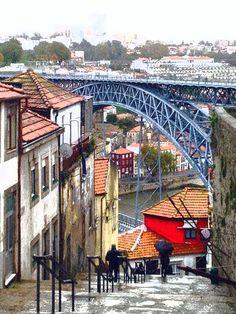 Oporto  Foto scattata da me e modificata con Photoshop.