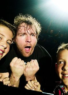 Dean being Dean with fans in the crowd. ❤️