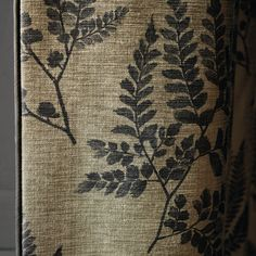 This delicate pattern of scattered ferns was designed by Rosie Mennen and is…