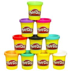 Great gift for a two year old! Play-Doh: Case of Colors: