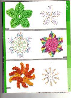 Ideas para el hogar: Guìa de puntos muestras y motivos en cuadrìculas con patrones