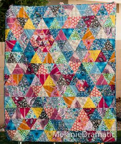 Quilting with Voile, Part I - the Machine - great tips and suggestions for easy quilting with voiles | Melanie Dramatic