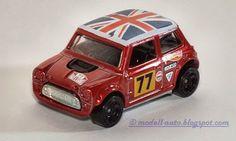 Mattel Hot Wheels Mini Cooper Basestamp Morris Mini Malaysia Decals 2014