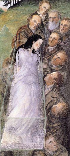 Angela Barrett, Branca de Neve