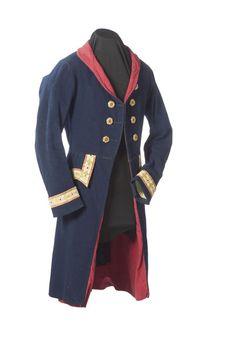 18th Century American Coachman's Livery Waist Jacket, - Cowan's Auctions