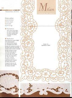 Victoria - Handmade Creations: Wonderfully cut embroidery - I . Cutwork Embroidery, Embroidery Needles, Hand Embroidery Patterns, Lace Patterns, White Embroidery, Vintage Embroidery, Machine Embroidery, Embroidery Designs, Fibre And Fabric
