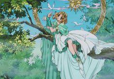 Manga Anime, Old Anime, Anime Art, Chobits Anime, Chise Hatori, Magic Knight Rayearth, Arte Sailor Moon, Manga Story, Card Captor