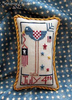 Stitching Dreams: Star-Spangled Stitching!