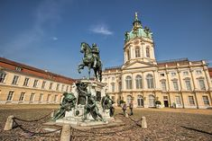 Just one of the reasons that you should visit Berlin: Charlottenburg Palace, severely damaged by bombing during WWII, has been restored and is open to the public.