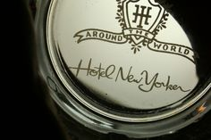 Hotel New Yorker vintage glass ashtray - US $29.99 Used in Collectibles, Advertising, Hotel & Motel