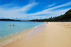 Beach in front of Westin, Nusa Dua Bali
