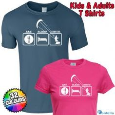 Eat Sleep Kitesurf T Shirts - I need one
