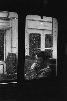 Gérard Blain by Jean Loup Sieff, Paris, 1959 Black White Photos, Black And White Photography, Jean Loup Sieff, Urbane Fotografie, Metro Paris, Urban People, Celebrity Portraits, French Photographers, Famous Artists