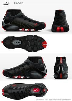 Nuevas zapatillas de Parkour: XUVIA (Puma)