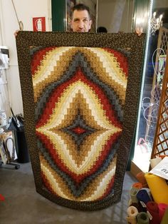 Big Bang Quilt, quilted by Fabrizio