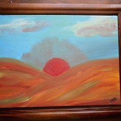 Sol_edad #paleont #arte #ôleo #cuadroartistico #pintura #méxico #dinosaurod #art…