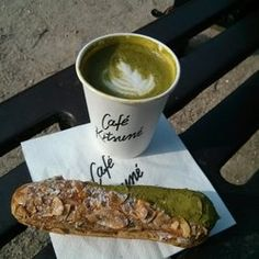 Café Kitsuné - Paris, France. Matcha Latte (4,5€)