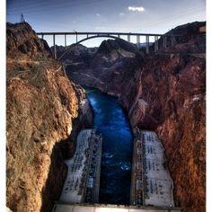 Bucket List: Hoover Dam, Border of Nevada and Arizona, USA