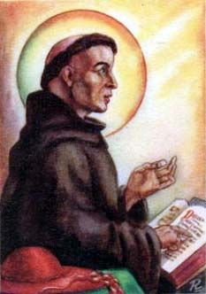 Saint Bonaventure pray for us and against intestinal problems.  Feast day July 15.