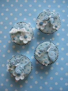 Blossom Butterfly Cupcakes