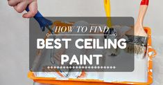 Choosing The Right Ceiling Paint . You should familiarize yourself with the resources as well as the basic steps on how to paint your ceiling effectively.