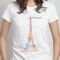 love in paris - Men's Crew - Designed by edsion using Snaptee