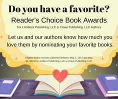 Limitless Publishing: Marketing Blog: Reader's Choice Awards! Nominations Are Now OPEN
