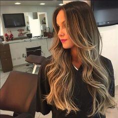 luzes douradas para cabelos castanhos