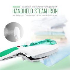 Handheld Garment Steamer for Home Mini Handheld Clothes Steam Iron Machine Steam Brush Household Clothes Steamer with EU PLUG