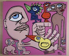 Me and the Birds 2010 by Abe Alvarez-Tostado