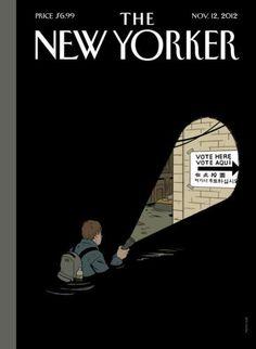 La une du New Yorker après l'ouragan.