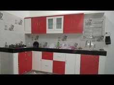 New modular kitchen - YouTube Kitchen Base Cabinets, Youtube, Home Decor, Decoration Home, Room Decor, Cabinets, Home Interior Design, Youtubers, Youtube Movies