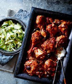 Chicken cacciatore recipe | Pete Evans :: Gourmet Traveller