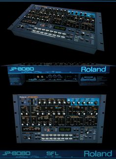 Roland by scifilicious on DeviantArt Dj Music, Listening To Music, Music Sequencer, Music Software, Drum Machine, Dj Equipment, Recording Studio, Electronic Music, Musical Instruments