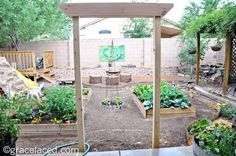 thoughts on gardening and growing- right where you are. (even in suburbia:) -fromBeautifully Rooted