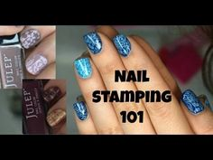 """Nail Stamping Tutorial for Beginners - Get """"Jamberry"""" style nails + troubleshooting tips! - YouTube"""
