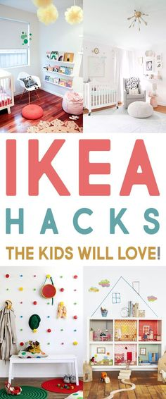ikea hacks Hi there! Are you a lover of IKEA HACKS? well then you are going to adore these IKEA Hacks the Kids Will LOVE! From Lego Tables to Play Stoves to Doll Houses. Ikea Hacks, Desk Hacks, Diy Pour Enfants, Ikea Kids Room, Ikea Hack Kids Bedroom, Ikea Playroom, Ikea Toddler Room, Diy Bedroom, Bedroom Storage