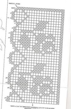 Family and Art: barred in crochet Crochet Curtain Pattern, Crochet Bookmark Pattern, Crochet Edging Patterns, Crochet Curtains, Crochet Bookmarks, Crochet Borders, Crochet Tablecloth, Marque-pages Au Crochet, Patron Crochet