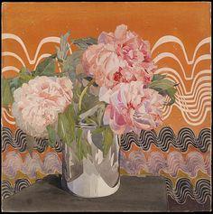 Peonies  -  by Charles Rennie Mackintosh