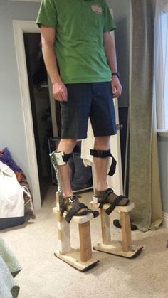 Picture of Homemade Stilts