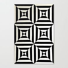 Shop Original Geometric Design by Dominic Joyce Canvas Print created by DominicJoyceArt. Illusion Kunst, Illusion Drawings, Illusion Art, Optical Illusion Quilts, Art Optical, Optical Illusions, Optical Illusion Tattoo, Zentangle Patterns, Quilt Patterns