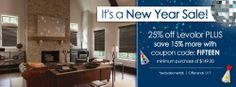 25% off Levolor plus an additional 15% off when you use #coupon #code: FIFTEEN | BlindSaver.com - Discount Window Blinds, Shades, & Coverings