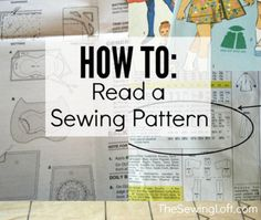 Easiest Way to read a sewing pattern ! Excellent tips tricks and Tutorial
