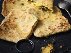 Découvrez la recette Galette orientale sur cuisineactuelle.fr.