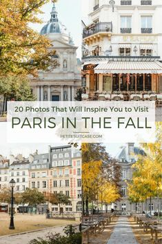 20 Photos That Will Inspire You to Visit Paris in the Fall Fotos, die Sie dazu inspirieren, Paris im Herbst zu besuchen Paris Travel Guide, Europe Travel Tips, European Travel, Places To Travel, Travel Destinations, Oh Paris, I Love Paris, Paris France, Fall In Paris