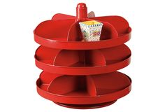 One Kings Lane - The General Store - 3-Tier Rotating Hardware Bin